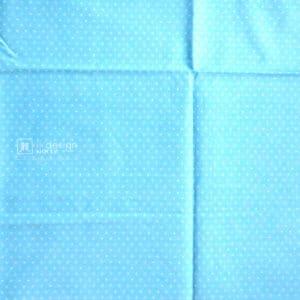 Cotton Fabric Singapore: Basic - Polka Dots - Blue - Cotton Fabric「 ii Design Workz 」