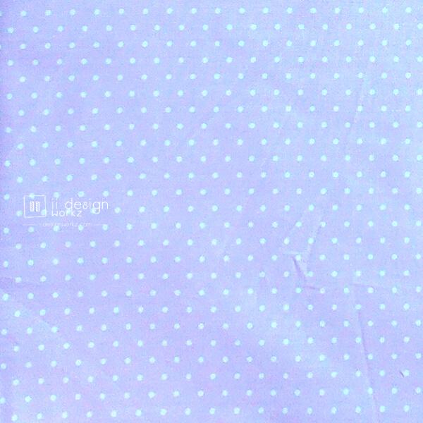 Cotton Fabric Singapore: Basic - Polka Dots - Violet - Cotton Fabric「 ii Design Workz 」