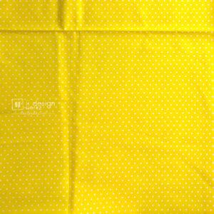 Cotton Fabric Singapore: Basic - Polka Dots - Yellow - Cotton Fabric「 ii Design Workz 」