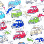 Fabric-S-Cartoon-Beetle-Cars-001