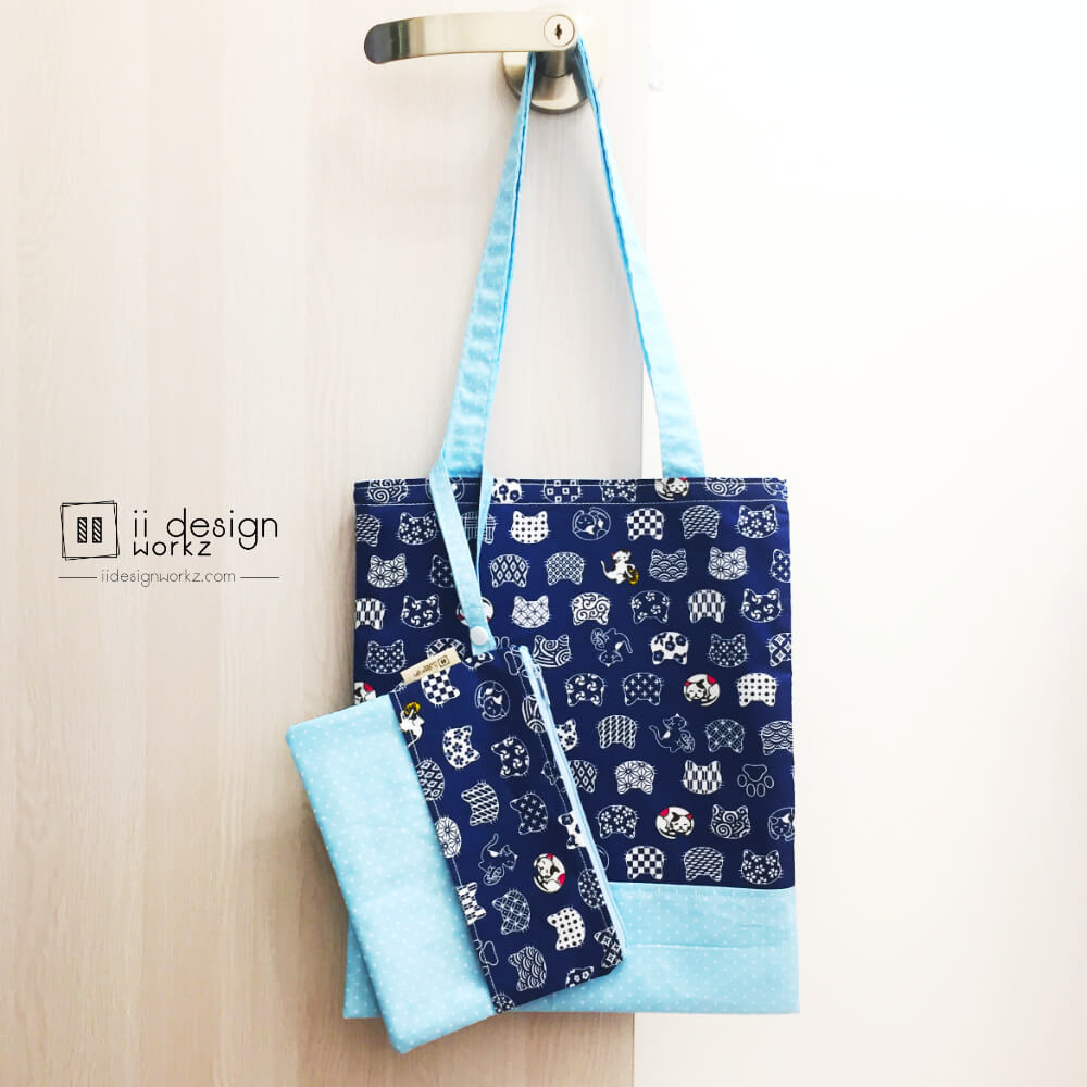 Tissue Holder Singapore   Tissue Pouch   Travel Tissue Holder   Pocket Tissue Holder   Tote Bag Singapore   Tote Bag 「 ii Design Workz 」