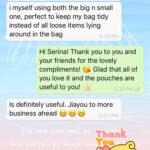 Customer Testimonial   Customer Review   Handmade Fabric Accessories   Singapore「 ii Design Workz 」