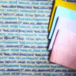 Cotton Fabric Singapore: Unicorn Dancing on Blue Stripe Taiwan Imported Cotton Fabric「 ii Design Workz 」