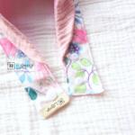 Dog Bandana Singapore | Dog Bow Bandana | Dog Bandana with Customized Hand-embroidery Name | Dog Accessories「 ii Design Workz 」