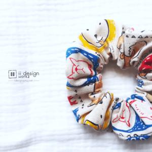 Scrunchies Singapore   Cotton Scrunchies   Bunny Ears Scrunchies   Classic Scrunchies   Handmade Hair Accessories「 ii Design Workz 」