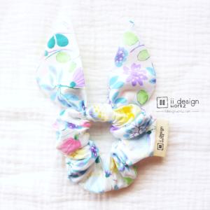 Scrunchies Singapore | Cotton Scrunchies | Bunny Ears Scrunchies | Bunny Ears Scrunchies | Handmade Hair Accessories「 ii Design Workz 」