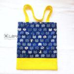 Handmade Tote Bag Singapore | Two-Tone Tote Bag | Shoulder Tote Bag「 ii Design Workz 」
