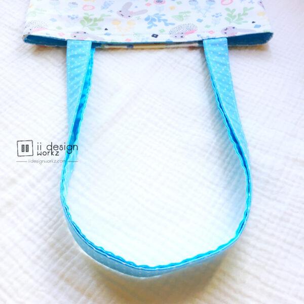 Handmade Tote Bag Singapore   Two-Tone Tote Bag   Shoulder Tote Bag「 ii Design Workz 」