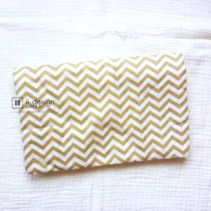 Cotton Fabric Singapore: Basic - Waves - Camel - Cotton Fabric「 ii Design Workz 」