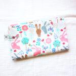 Cotton Fabric Singapore: Rabbit & Butterfly Cotton Fabric 「 ii Design Workz 」