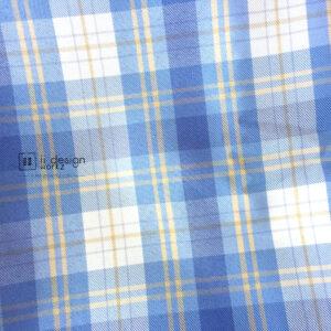 Fabric Singapore: Plaid Ice-cream Chemical Fiber Fabric 「 ii Design Workz 」