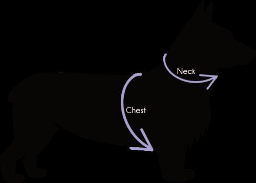 Dog Bandana Singapore | Dog Neckerchief | Dog Accessories | Dog Size Chart「 ii Design Workz 」