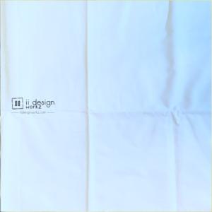 Fabric Singapore: White Solid Color Cotton Fabric 「 ii Design Workz 」