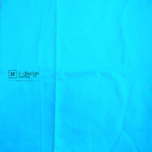 Fabric Singapore: Pool Blue Solid Color Cotton Fabric 「 ii Design Workz 」